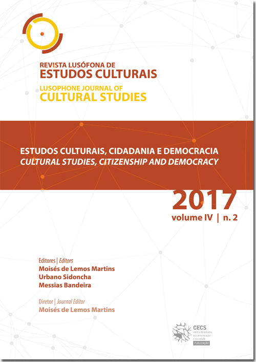 Ver Vol. 4 N.º 2 (2017): Estudos Culturais, cidadania e democracia